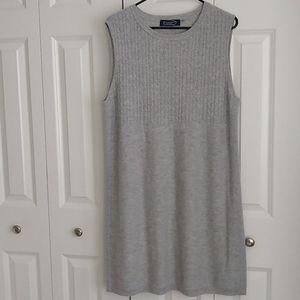Magaschoni New York XL grey cashmere dress
